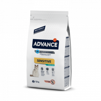 Advance Cat Sensitive Sterilized Salmão 1,5kg